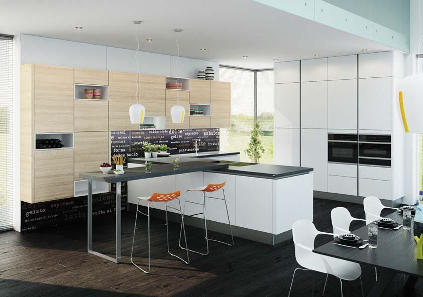 Salon pohištva, kjer si lahko izberete kuhinjo vaših sanj