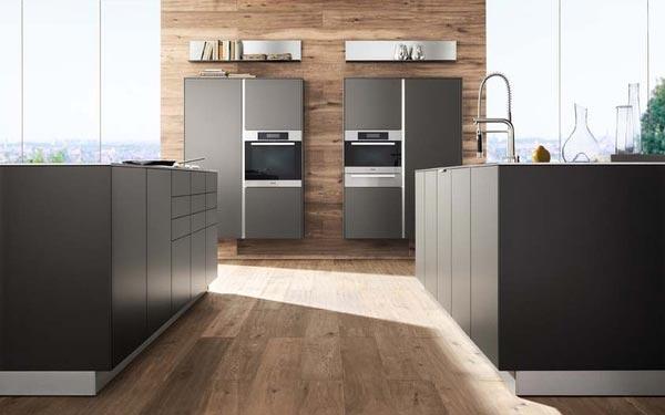 Kuhinje Intuo - črne barve